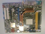 Материнская плата AM2 (4 слотов DDR2, ECC/non-ECC) - ASUS M2N32-SLI Deluxe