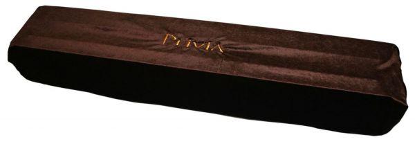 Накидка для пианино бархатная шоколад