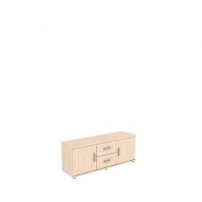 Тумба с ящиками и дверцами   УК-103.03  1350х400х525 мм (ШхГхВ)
