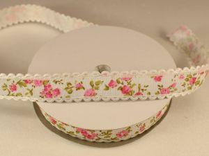 Лента декоративная, ширина 20 мм(213120), цвет: №7 розовый (бобина 20+-0,3 ярдов)