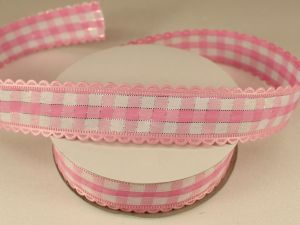 Лента декоративная, ширина 20 мм(313100), цвет: №7 светло-розовый (бобина 20+-0,3 ярдов)