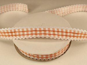 Лента декоративная, ширина 20 мм(313009), цвет: №1 оранжевый (бобина 20+-0,3 ярдов)
