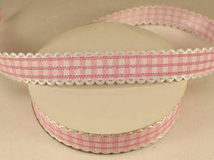 Лента декоративная, ширина 20 мм(313009), цвет: №8 светло-розовый (бобина 20+-0,3 ярдов)