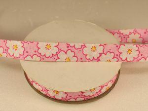Лента декоративная, ширина 15 мм(213052), цвет: №3 розовый (бобина 20+-0,3 ярдов)