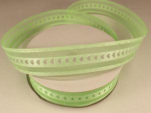 Лента декоративная, ширина 25 мм(313004), цвет: №5 зеленый (бобина 20+-0,3 ярдов)