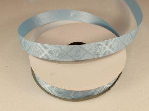 Лента декоративная, ширина 15 мм(213013), цвет: №2 голубой (бобина 20+-0,3 ярдов)