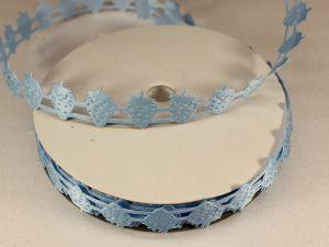 Лента декоративная, ширина 18 мм(000001), цвет: №3 голубой (бобина 20+-0,3 ярдов)