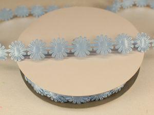 Лента декоративная, ширина 18 мм(213069), цвет: №5 голубой (бобина 20+-0,3 ярдов)