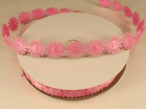 Лента декоративная, ширина 18 мм(213069), цвет: №7 светло-розовый (бобина 20+-0,3 ярдов)