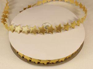 Лента декоративная, ширина 13 мм(213007), цвет: №3 золото (бобина 20+-0,3 ярдов)