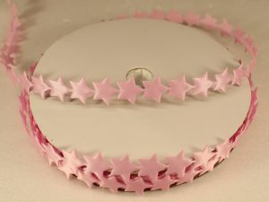 Лента декоративная, ширина 13 мм(213007), цвет: №6 светло-розовый (бобина 20+-0,3 ярдов)