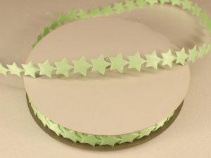 Лента декоративная, ширина 13 мм(213007), цвет: №13 зеленый (бобина 20+-0,3 ярдов)