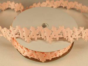 Лента декоративная, ширина 25 мм(313003), цвет: №3 светло-розовый (бобина 20+-0,3 ярдов)