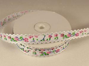 `Лента декоративная, ширина 15 мм(213019), цвет: №1 розовый