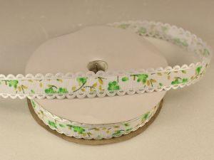 `Лента декоративная, ширина 15 мм(213019), цвет: №2 зеленый