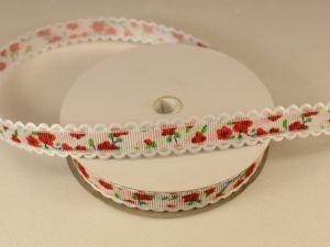 `Лента декоративная, ширина 15 мм(213019), цвет: №5 красный