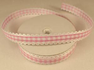 `Лента декоративная, ширина 15 мм(213011), цвет: №1 светло-розовый