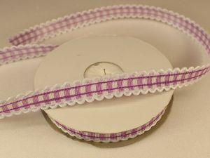 `Лента декоративная, ширина 15 мм(213011), цвет: №2 фиолетовый