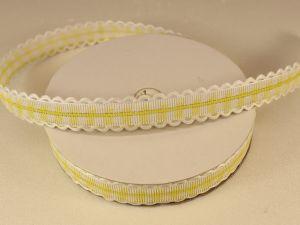 `Лента декоративная, ширина 15 мм(213011), цвет: №5 лимонный