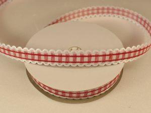 `Лента декоративная, ширина 15 мм(213011), цвет: №6 красный