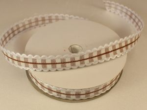 `Лента декоративная, ширина 15 мм(213011), цвет: №11 коричневый