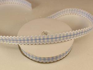 `Лента декоративная, ширина 15 мм(213011), цвет: №12 голубой