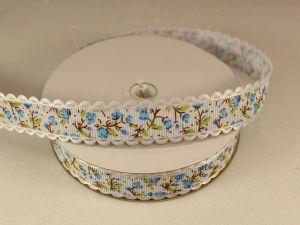 `Лента декоративная, ширина 20 мм(213120), цвет: №3 голубой