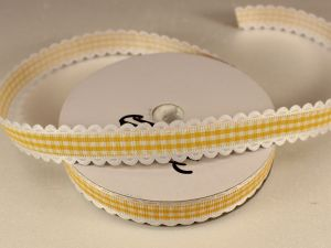 `Лента декоративная, ширина 15 мм(213005), цвет: №2 желтый