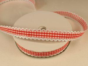`Лента декоративная, ширина 15 мм(213005), цвет: №5 красный