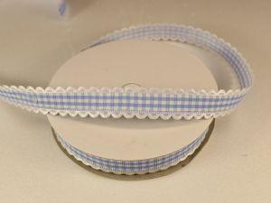 `Лента декоративная, ширина 15 мм(213005), цвет: №7 голубой