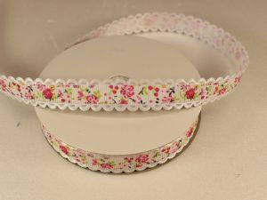 `Лента декоративная, ширина 15 мм(213029), цвет: №2 розовый