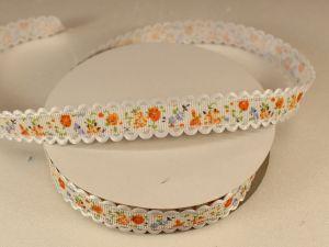 `Лента декоративная, ширина 15 мм(213029), цвет: №3 оранжевый