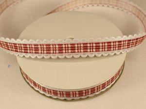 `Лента декоративная, ширина 15 мм(213035), цвет: №1 красный