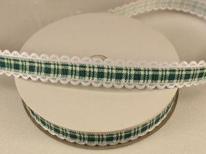 `Лента декоративная, ширина 15 мм(213035), цвет: №3 зеленый