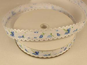 `Лента декоративная, ширина 15 мм(213014), цвет: №6 синий