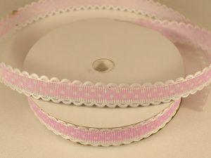`Лента декоративная, ширина 15 мм(213043), цвет: №7 светло-сиреневый