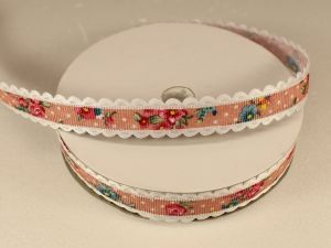 `Лента декоративная, ширина 15 мм(213041), цвет: №1 розовый