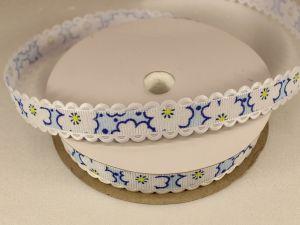 `Лента декоративная, ширина 15 мм(213020), цвет: №7 синий