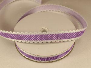 `Лента декоративная, ширина 15 мм(213109), цвет: №1 сиреневый