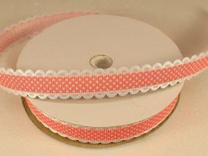 `Лента декоративная, ширина 15 мм(213109), цвет: №5 коралловый