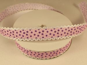 `Лента декоративная, ширина 20 мм(213048), цвет: №3 фиолетовый