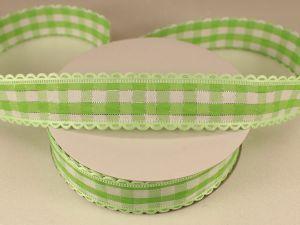 `Лента декоративная, ширина 20 мм(313100), цвет: №6 зеленый