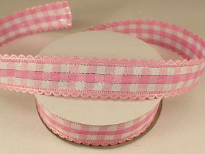 `Лента декоративная, ширина 20 мм(313100), цвет: №7 светло-розовый