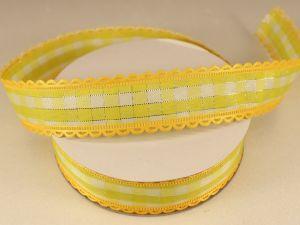 `Лента декоративная, ширина 20 мм(313100), цвет: №8 желтый