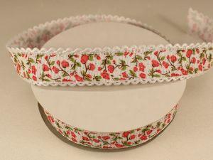 `Лента декоративная, ширина 25 мм(313104), цвет: №1 красный