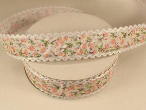 `Лента декоративная, ширина 25 мм(313104), цвет: №6 персиковый