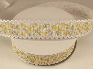 `Лента декоративная, ширина 25 мм(313104), цвет: №8 желтый