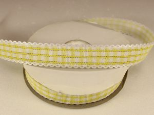 `Лента декоративная, ширина 20 мм(313009), цвет: №9 желтый