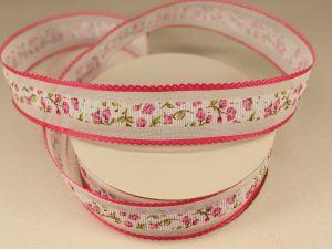 `Лента декоративная, ширина 25 мм(313105), цвет: №1 розовый