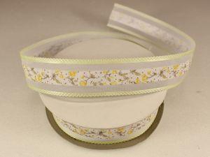 `Лента декоративная, ширина 25 мм(313105), цвет: №8 лимонный